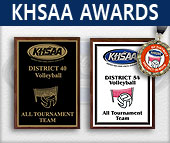 KHSAA All Tournament Trophies