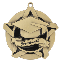 "2-1/4"" Graduate Star Medallion"
