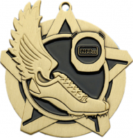 "2-1/4"" Track Star Medallion"