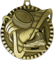"2"" Hockey Medallion"