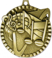 "2"" Music Medallion"
