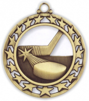 "2-1/2"" Hockey Medallion"