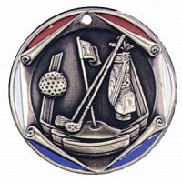 "2"" Golf Medallion"