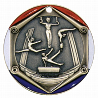 "2"" Gymnastics Medallion"