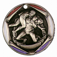 "2"" Wrestling Medallion"
