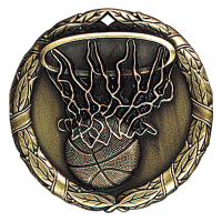"2"" Basketball Medallion"