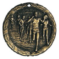 "2"" Cross Country Medallion"