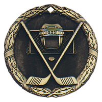 "2"" Ice Hockey Medallion"