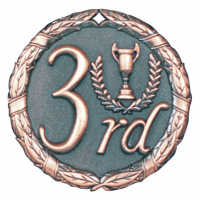 "2"" 3rd Place Medallion"