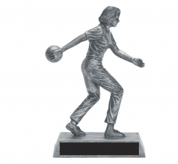 Bowling Female - Pewter