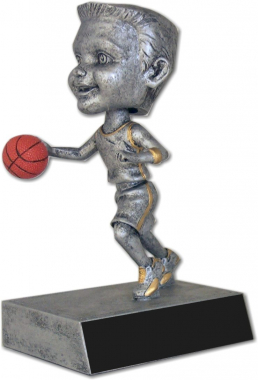 Basketball Male Bobble Head