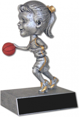 Basketball Female Bobble Head