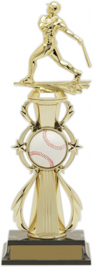 "13-inch Baseball ""Double Play"" Trophy"
