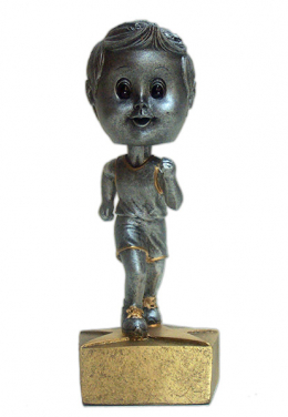 Track Male Bobble Head