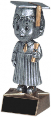 Male Graduate Bobble Head