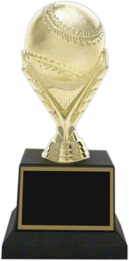 "7-1/2-inch ""Baseball Figure"" Trophy"