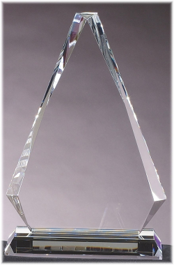"7"" x 10-3/4"" Crystal Wedge"