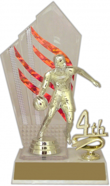 "8-inch ""Highlights with Trim"" Trophy"