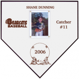 "11-1/2"" Home Plate Plaque"