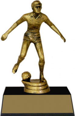 "7-inch Male Soccer Player ""Competitor"" Trophy"