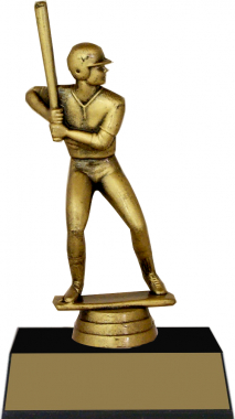 "7-inch Male Batter ""Competitor"" Trophy"