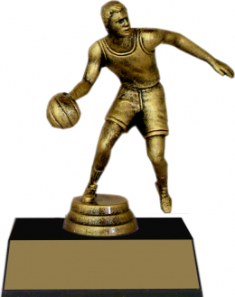 "7-inch Male Basketball Player ""Competitor"" Trophy"