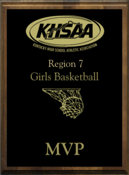 KHSAA Basketball District/Regional All Tournament/MVP Plaques