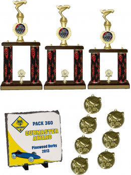 Pinewood Derby Crusher Package
