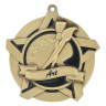 "2-1/4"" Art Star Medallion - 43001-NR"