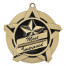 "2-1/4"" Most Improved Star Medallion - 43021-NR"