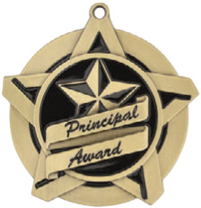 "2-1/4"" Principals Award Star Medallion - 430214-NR"
