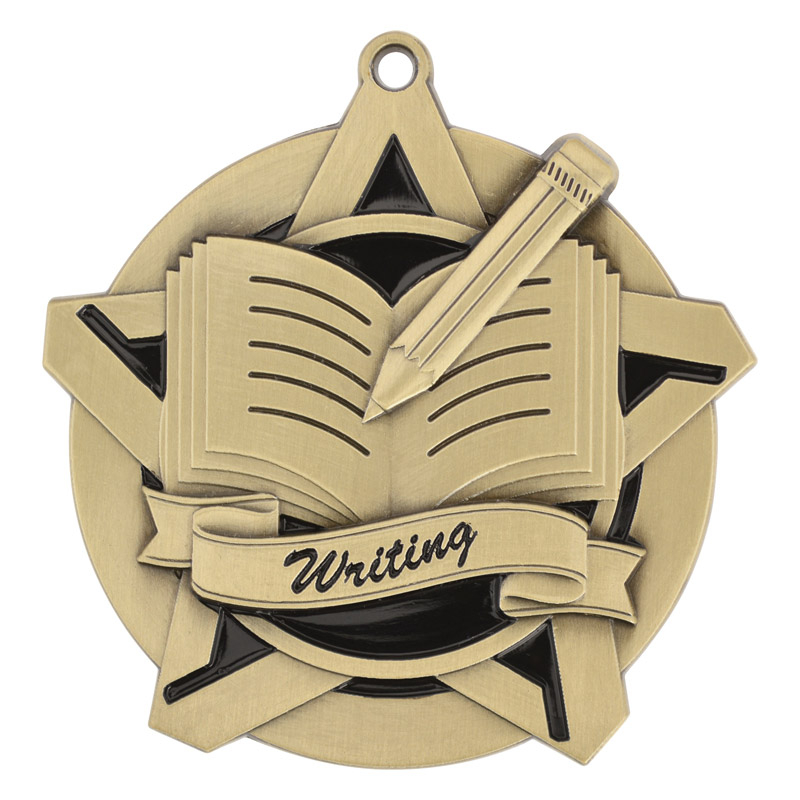 "2-1/4"" Writing Star Medallion - 43026-NR"