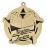 "2-1/4"" Reading Leader Star Medallion - 43027-NR"