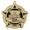 "2-1/4"" Honor Roll Star Medallion - 43028-NR"