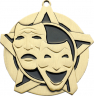 "2-1/4"" Drama Star Medallion - 43117-NR"