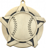 "2-1/4"" Baseball Star Medallion - 43130-NR"