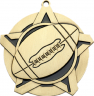 "2-1/4"" Football Star Medallion - 43140-NR"