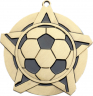 "2-1/4"" Soccer Star Medallion - 43170-NR"