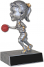 Basketball Female Bobble Head - 59507GS