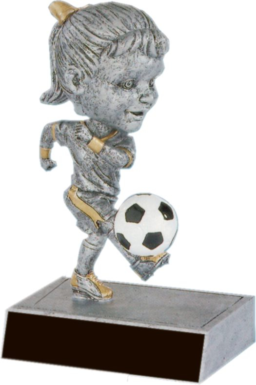 Soccer Female Bobble Head - 59514GS