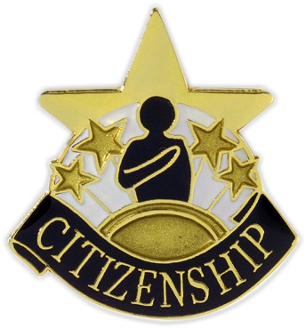 Citizenship Pin - 68102G