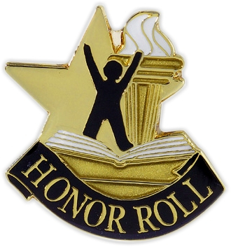 Honor Roll Pin - 68104G