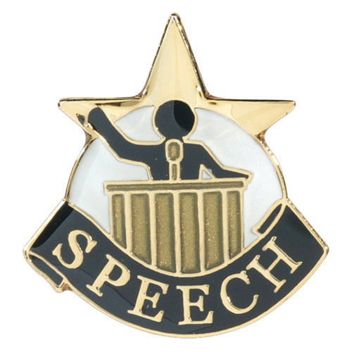 Speech Pin - 68126G