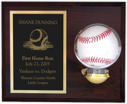 xxxBaseball Holder Plaque - 810BBH