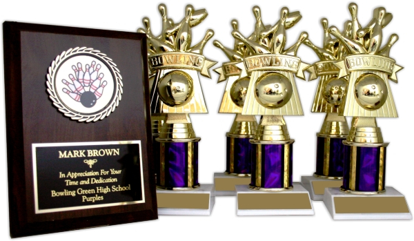 Bowling Trophy Package - 8132 - 8132BO-PACK