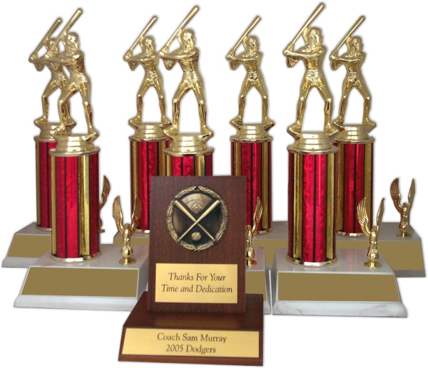 Baseball/Softball Trophy Package - 8145BA - 8145BA-PACK