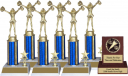 Cheerleading Trophy Package - 8145CH - 8145CH-PACK