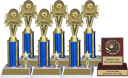 Volleyball Trophy Package - 8145VB - 8145VB-PACK