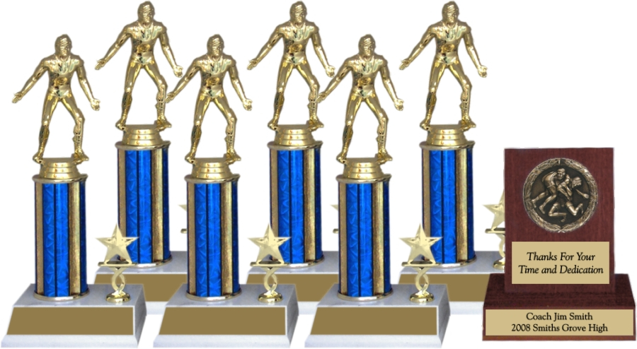 Wrestling Trophy Package - 8145WR - 8145WR-PACK