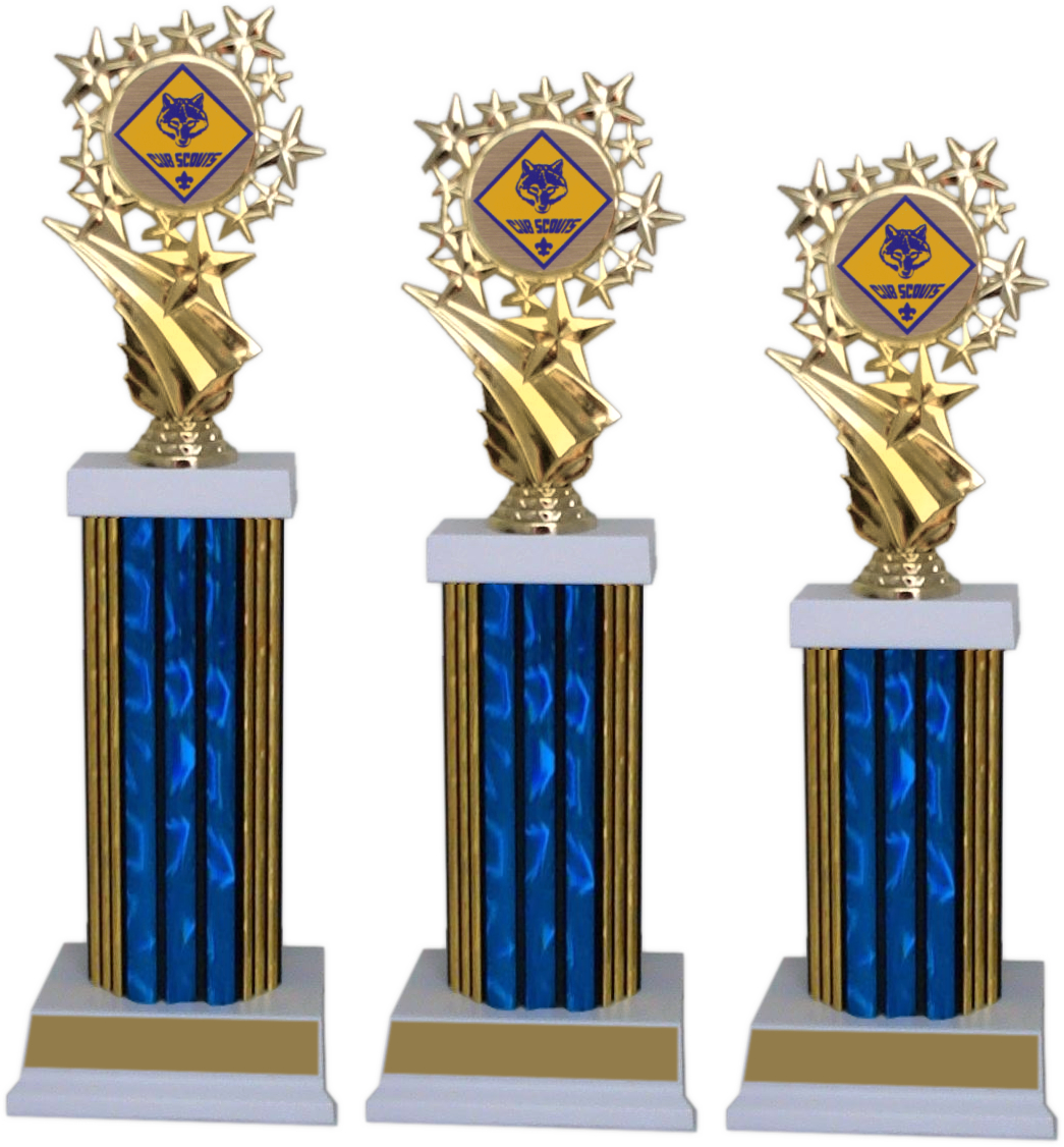 xxxPinewood Derby Participation Star Package - 8696-PWD-PACK